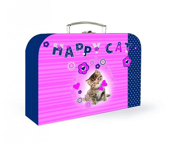 """Karton PP Dětský kufřík 35"""" - Happy Cats"""