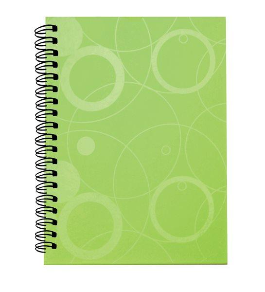 PP Kroužkový blok A5 Neo Colori - zelená