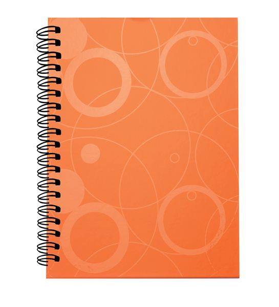 PP Kroužkový blok A5 Neo Colori - oranžová