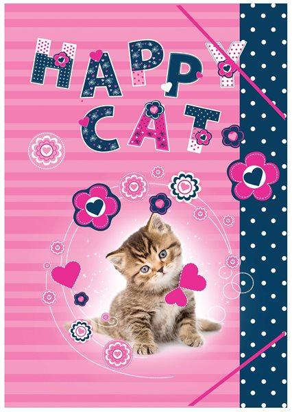 Karton PP Desky na sešity A4 - Happy Cats