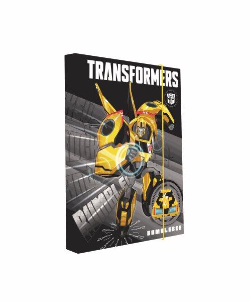 Karton PP Desky na sešity s boxem A4 - Transformers 2016