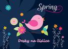 Karton PP Desky na číslice - Spring