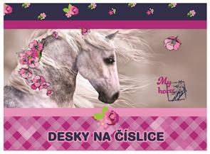 Desky na číslice - Kůň