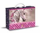 Karton PP Dětský kufřík hranatý - Kůň