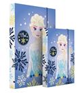 Karton PP Desky na sešity s boxem A4 - Frozen - Elsa