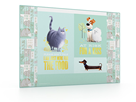 Karton PP Podložka na stůl - PETS/Tajný život mazlíčků