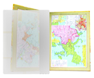 Obal na atlas světa 505 x 345 mm - PVC 100 mikronů