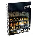 Karton PP Kroužkový blok A4 - Řím