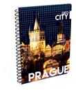 Karton PP Kroužkový blok A4 - Praha