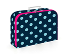 Dětský kufřík lamino 34 cm - Romantic Nature Dots