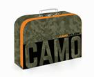 Dětský kufřík lamino 34 cm - Camo