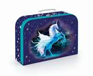 Dětský kufřík lamino 34 cm - Unicorn/Jednorožec