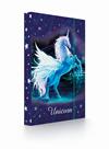 Desky na sešity s boxem A4 - Unicorn/Jednorožec