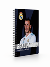 Karton PP Kroužkový blok A5 - Real Madrid