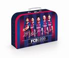 Dětský kufřík lamino 34 cm - FC Barcelona