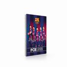 Kroužkový blok A4 - FC Barcelona