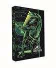Desky na sešity s boxem A4 - Jurassic World/Jurský svět