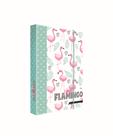 Desky na sešity s boxem A4 - Romantic Nature Flamingo