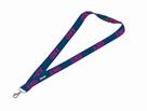 Klíčenka s karabinkou OXY Sport BLUE LINE - Pink
