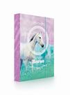 Desky na sešity s boxem A4 Jumbo - Kůň Romantic