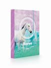 Desky na sešity s boxem A5 - Kůň Romantic
