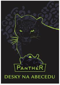 Desky na abecedu - Panter