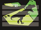 Podložka na sestavování slov - T-Rex 2019