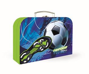 Dětský kufřík lamino 34 cm - Fotbal
