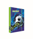 Desky na sešity s boxem A5 - Fotbal