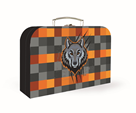 Dětský kufřík lamino 34 cm - Vlk