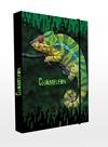 Desky na sešity s boxem A4 - Chameleon