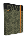 Desky na sešity s boxem A5 Jumbo - Camo 2