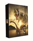 Desky na sešity s boxem A4 Jumbo - Dinosaur World