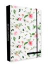Desky na sešity s boxem A4 Jumbo - Romantic Nature Rose