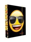 Desky na sešity s boxem A4 - Emoji