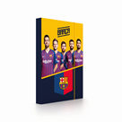 Desky na sešity s boxem A4 - FC Barcelona 2019