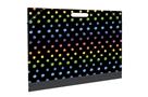 Desky na výkresy A3 s gumičkou - Dots colors