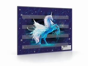 Podložka na sestavování slov - Unicorn/Jednorožec