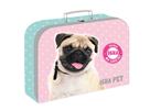 Dětský kufřík lamino 34 cm - ISHA My love Pet