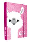 Desky na sešity s boxem A5 - Lama
