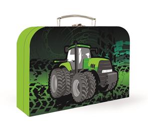 Dětský kufřík lamino 34 cm - Traktor