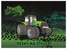 Desky na číslice - Traktor