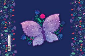 Podložka na stůl 60 × 40 cm - Motýl 2020