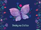Desky na číslice - Motýl 2020