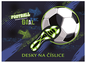 Desky na číslice- Fotbal 2020