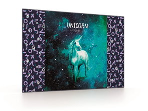Podložka na stůl 60 × 40 cm - Unicorn/Jednorožec 2020