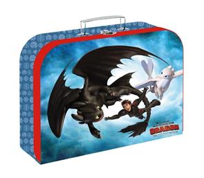 Dětský kufřík lamino 34 cm - Jak vycvičit draka 2020