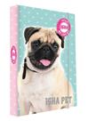 Desky na sešity s boxem A5 - ISHA My love Pet