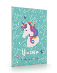 Desky na abecedu - Unicorn iconic