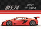 Desky na číslice - Auto 2020